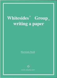 Whitesides'Group_writing a paper
